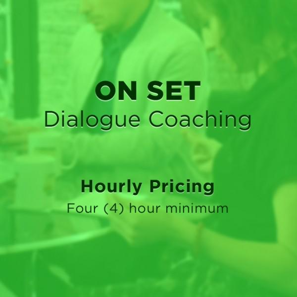 On Set Coaching - On Set Dialogue Coaching