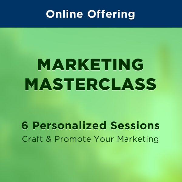 On Set Coacging - Marketing Masterclass